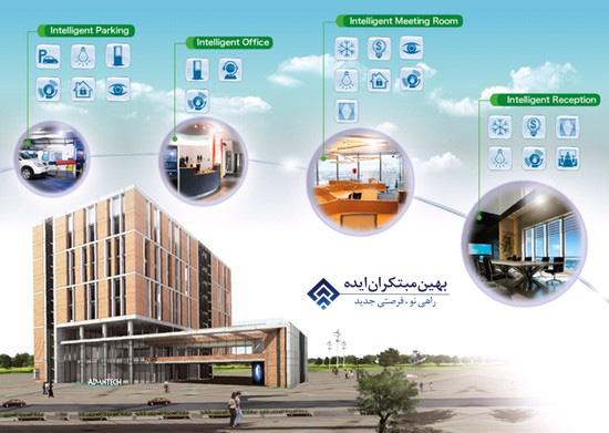 ساختمان هوشمند در ایران