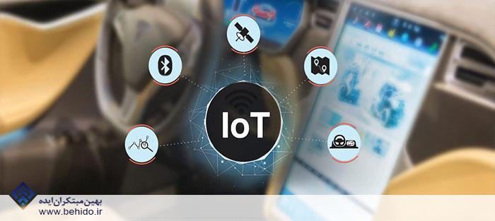 اینترنت اشیا در صنعت خودرو