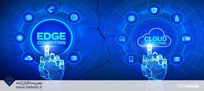 کاربرد رایانش ابری و محاسبات لبه ای در IoT