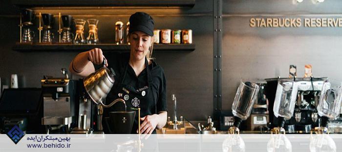 استارباکس چگونه از هوش مصنوعی در دستگاه های قهوه ساز استفاده می کند؟