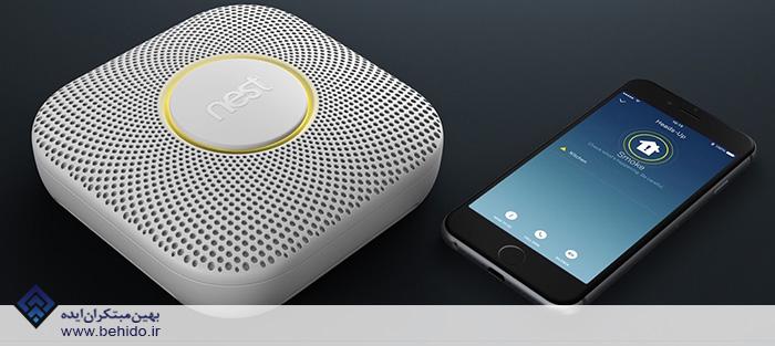 ردیاب هوشمند دود Nest Protect