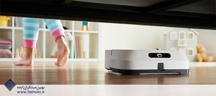 بات های تمیزکننده قابل برنامه ریزی iRobot Roomba S9 + و iRobot Braava Jet M6