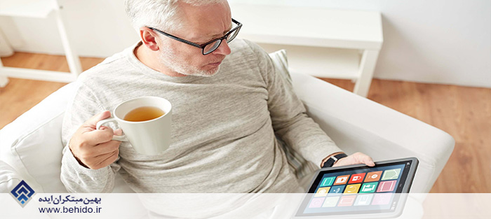 تکنولوژی IoT در نگهداری از سالمندان